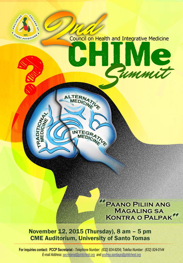 CHIMe Summit 2015 logo
