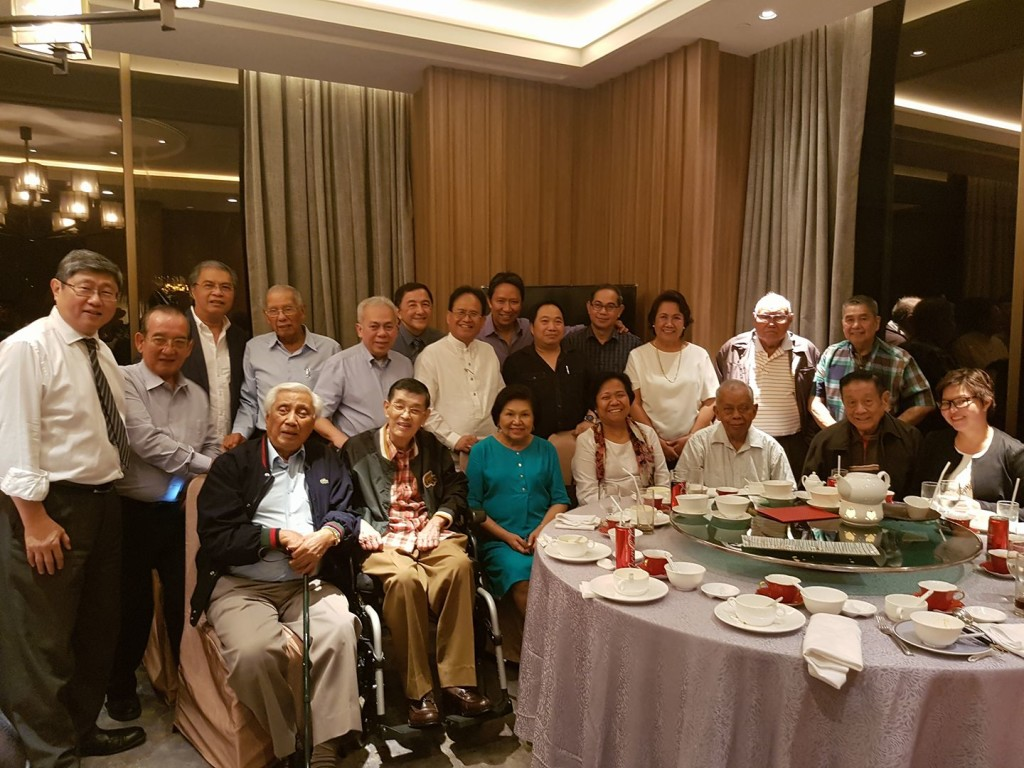 PCP meeting with past presidents, photo credit: Dr. Gina Nazareth