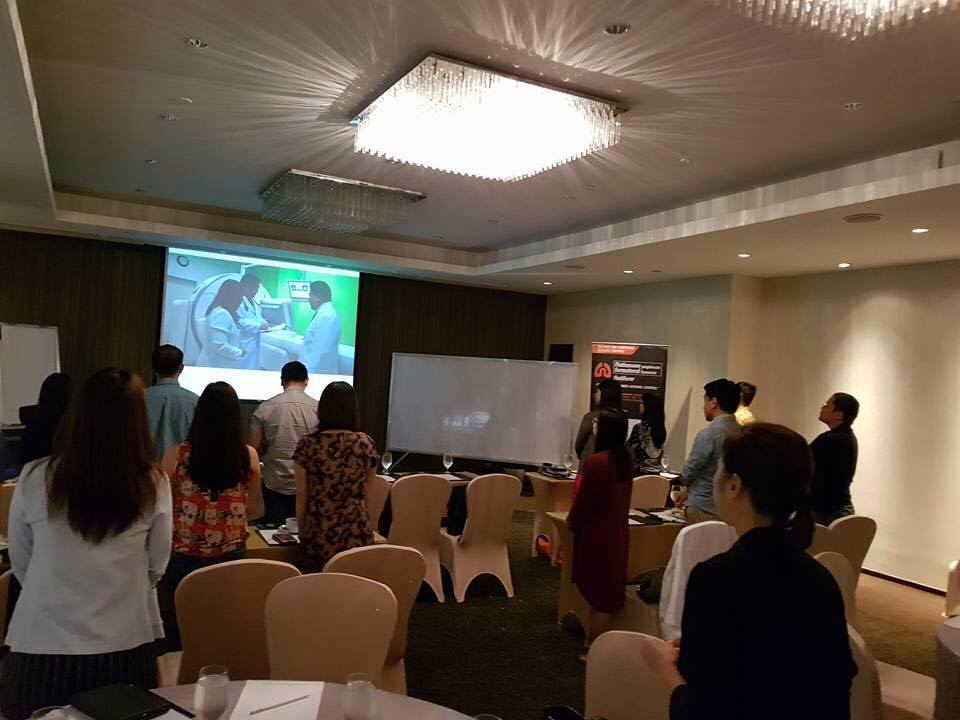 INHALE workshop, photo credit: Dr. August Sablan