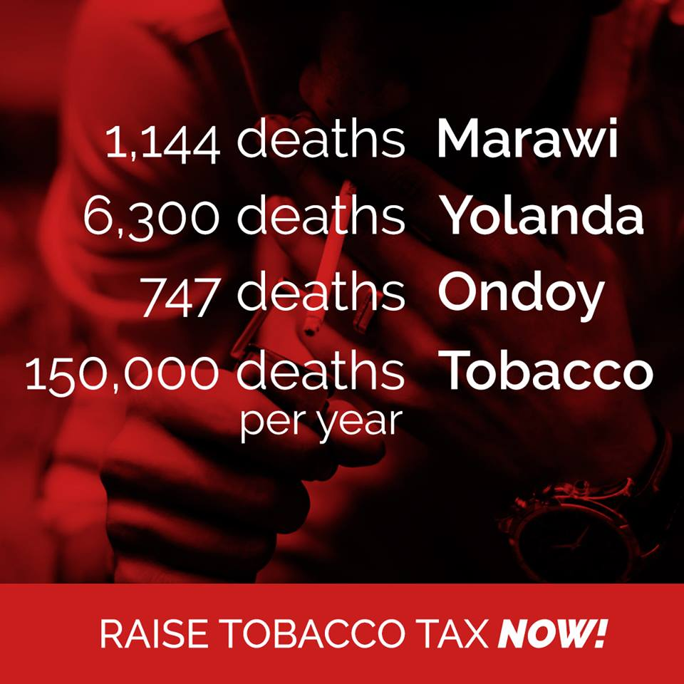 Raise Tobacco Tax Now!