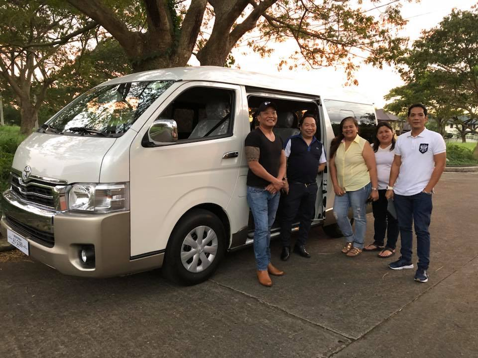 PCCP service vehicle