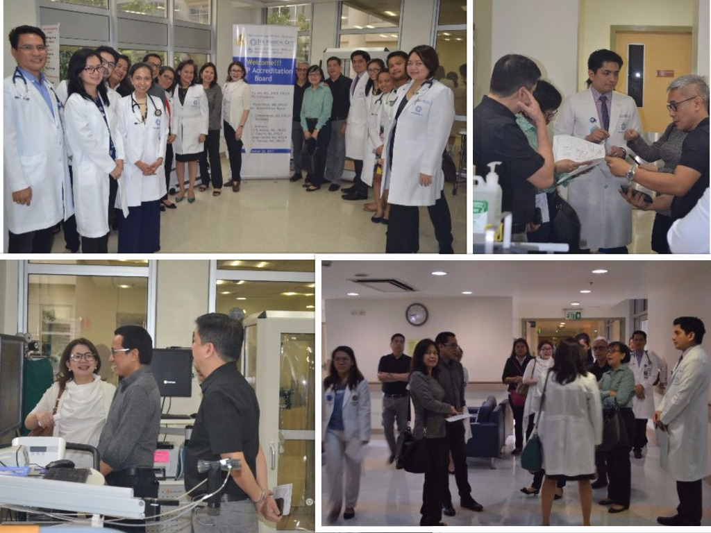 The Medical City accreditation visit